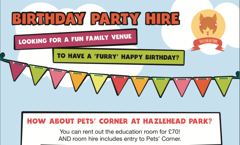 Pets Corner - Birthday Party Hire