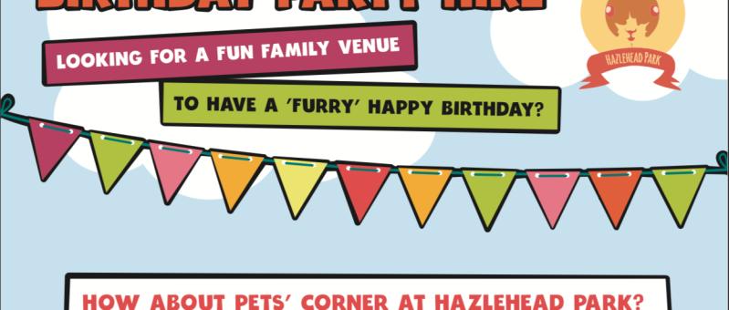 Pets Corner - Birthday Party Hire